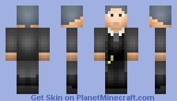 Alfred Pennyworth (Gotham) Minecraft Skin