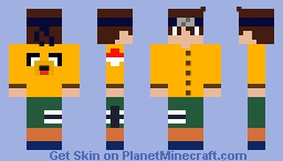 anime Minecraft Skin