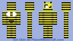 Berserk Bee Minecraft Skin