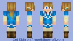 Like Zelda Month In July... -Link - Breath of the Wild Minecraft Skin