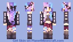 Carbon Carouselle Minecraft Skin