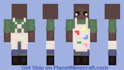 The Painter Minecraft Skin