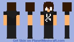 Andrew Hussie (GodTeir) Minecraft Skin