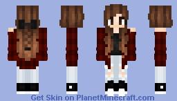 ♠𝓹𝓪𝔂𝓪𝔁𝓱𝓪𝓵♠ ~ Plaid Girl ^-^ Minecraft Skin