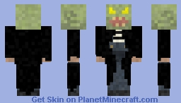 The Haunted Mask Minecraft Skin