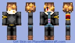 Flowerfell Frisk 2.0 Minecraft Skin