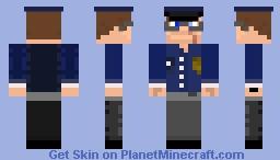 SupGamer NL(Jelle Craft) - Policeman Minecraft Skin
