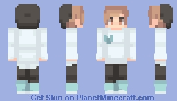 ƁℓυєAηgєℓ ~ Request By _Panda // Girl Version In Desc Minecraft Skin