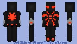 Big Time Spiderman (Red Version) Minecraft Skin