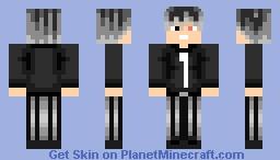 Haise Sasaki(No Coat) Minecraft Skin