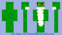 Frog skin Minecraft Skin