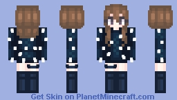 「night sky 」 competition results! Minecraft Skin