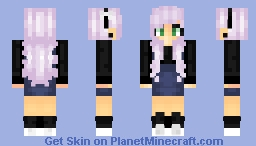 My favorate color is Black ~ Malefiicent Minecraft Skin