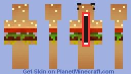 Burger Derp Minecraft Skin