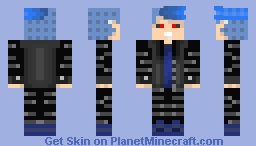 Punk'ed out ghoul!(Unisex) Minecraft Skin