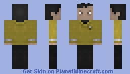 Mr sulu / Star Trek 2009 Minecraft Skin