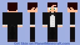 Fancy Tuxedo Minecraft Skin