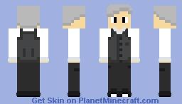Bartender Guy Minecraft Skin
