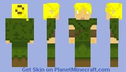 Alleria Swiftwind from Kingdom Rush Minecraft Skin
