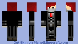 Sam Adhorrent Black Suit Minecraft Skin