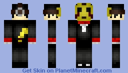 CreepsMCPasta Halloween edit V2 Minecraft Skin