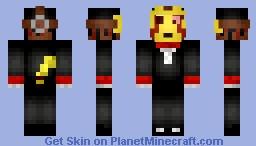 CreepsMCPasta Halloween edit V3 Minecraft Skin