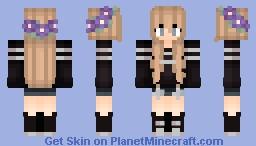 Into the dark   ThePugLife (other version in desc) Minecraft Skin