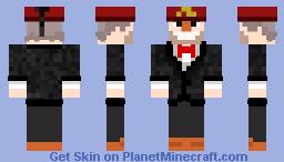 Stan Pines Minecraft Skin