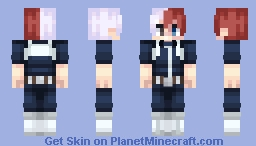 Todoroki🔥🔥 Minecraft Skin