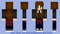 иσт ιи тнє мσσ∂... ~ KITTY__GᗩᗰEᖇ Minecraft Skin