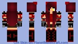Foxy Girl (FNAF) Minecraft Skin