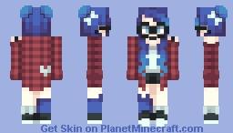 OC - Geeky Blue Minecraft