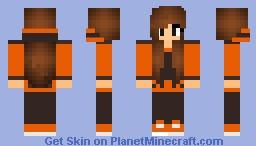 FinsGraphics Girl Skin Minecraft Skin
