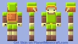 [Legend of Zelda] Nes Link Minecraft