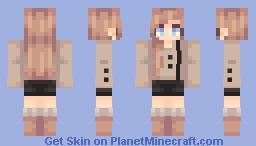 ☁ | a study in neutrals Minecraft Skin
