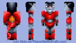Gargoyle Battle Armor Minecraft Skin