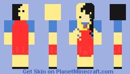 AlphabetChibi Minecraft Skin