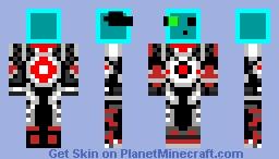 Robo-Slime Minecraft Skin