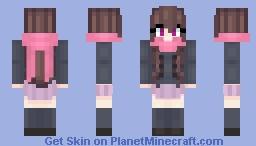 Hiyori Iki || by Kaylita Minecraft Skin