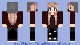 IRL Punk Me Minecraft Skin