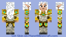 Ledridas; King of The Elves Minecraft Skin