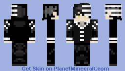 Death the Kid ~ Palahniuk Minecraft Skin