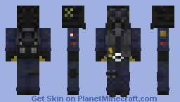 Smoke [Rainbow Six Siege] Minecraft Skin
