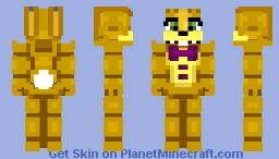 FNAF World - Spring Bonnie Minecraft Skin