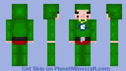 I made Tingle. Because, Memes. Minecraft Skin