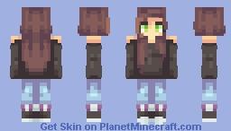300 subs eek Minecraft Skin