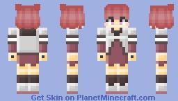 [Yuru Yuri] Akari Akaza Minecraft Skin