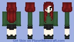 αиσтнєя ανσςα∂σ?!? | Cassyyy Minecraft Skin