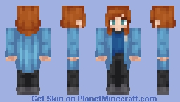 ♦ℜivanna16♦ Fanskin for Beverly ♥ Minecraft Skin