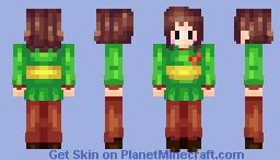 Greetings. I am Chara. Minecraft Skin